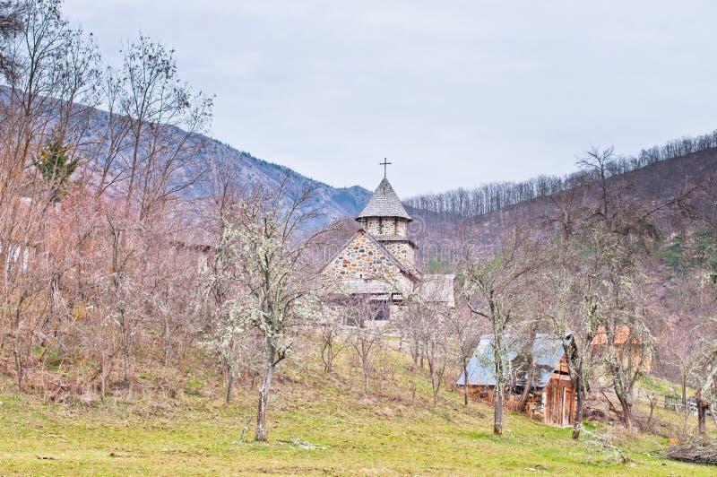 Monastère d'Uvaz image libre de droits