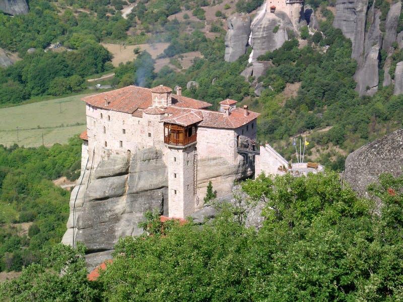 Download Monastère dans Metéora photo stock. Image du grec, montagne - 733850