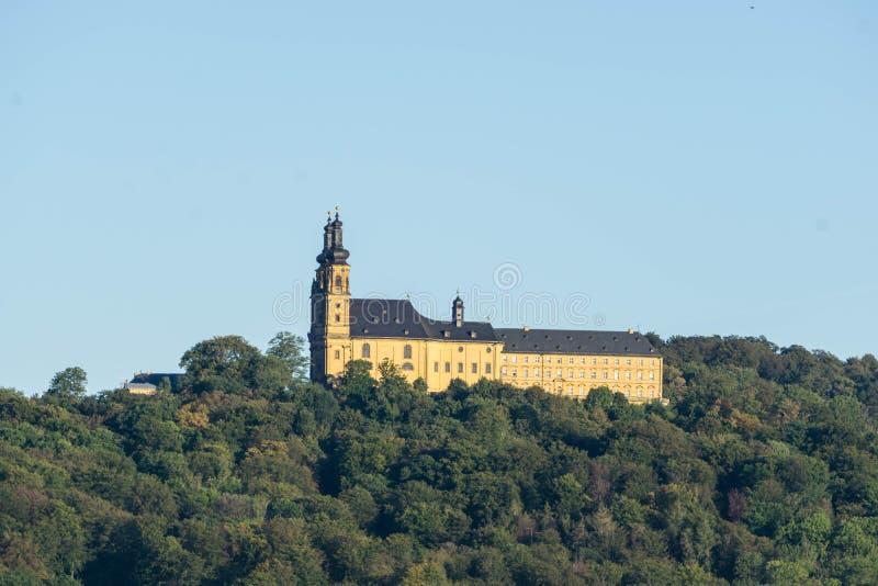 Monastère de Banz dans la ville Bad Staffelstein Bavaria Allemagne images libres de droits