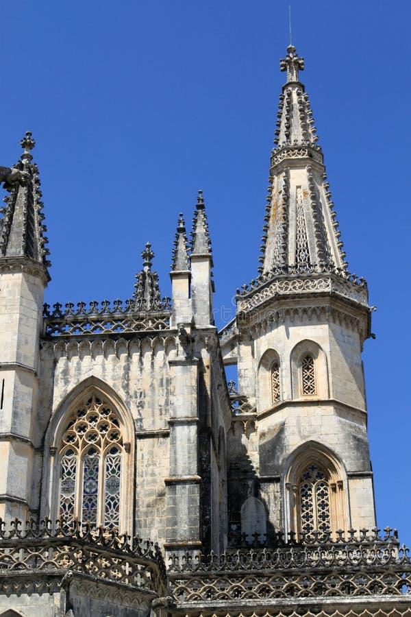 Monastère de Batalha photographie stock libre de droits