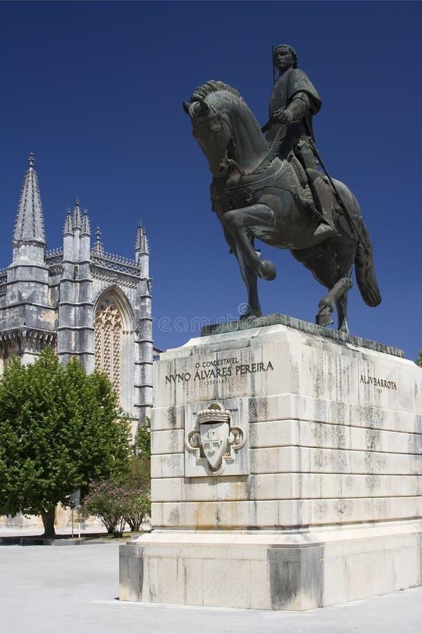 Monastère de Batalha et de Statu images libres de droits