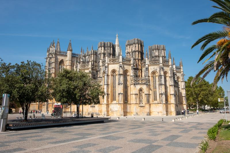 Monastère de Batalha Portugal photographie stock