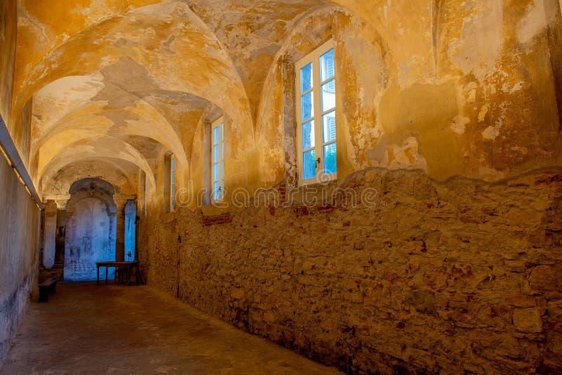 Monastère de carmin à Bergame photographie stock libre de droits
