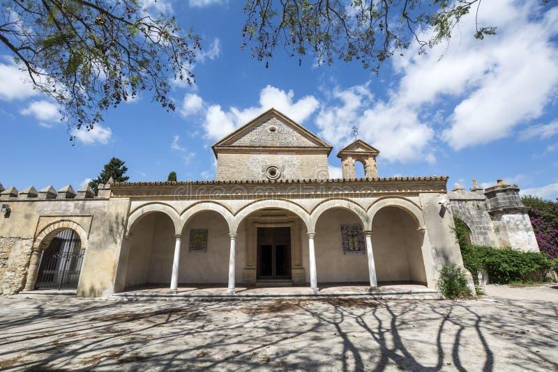 Monastère de Cartuja, Jerez de la Frontera, Espagne (Charterhouse) photographie stock libre de droits