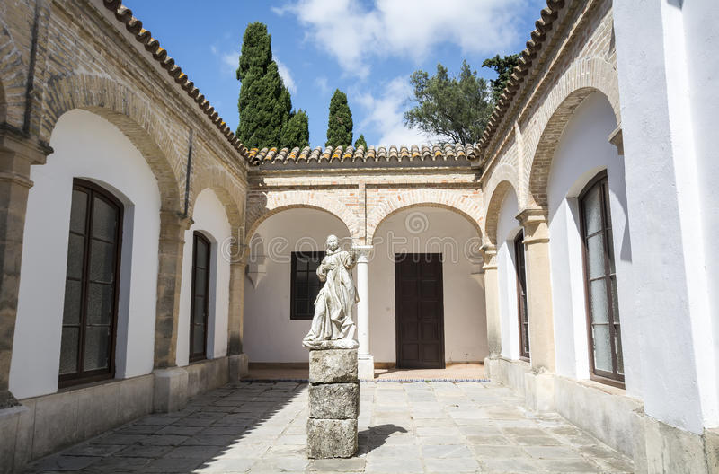 Monastère de Cartuja, Jerez de la Frontera, Espagne (Charterhouse) photos stock