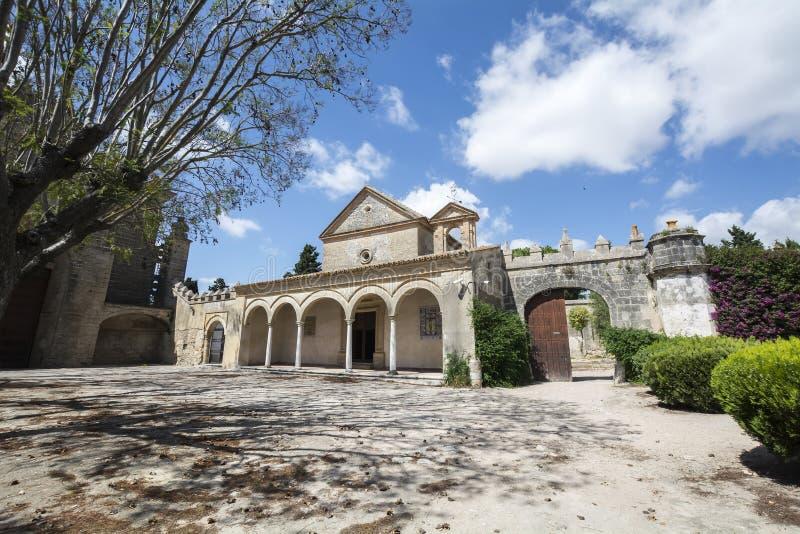 Monastère de Cartuja, Jerez de la Frontera, Espagne (Charterhouse) photos libres de droits