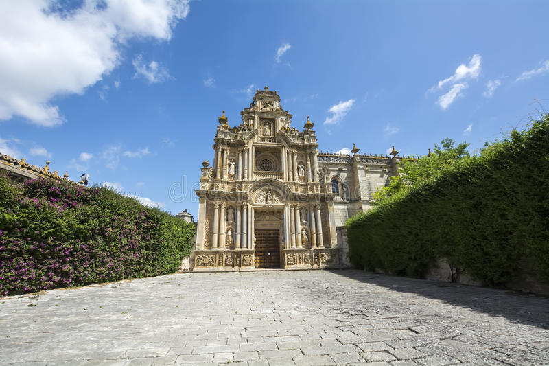 Monastère de Cartuja, Jerez de la Frontera, Espagne (Charterhouse) image stock