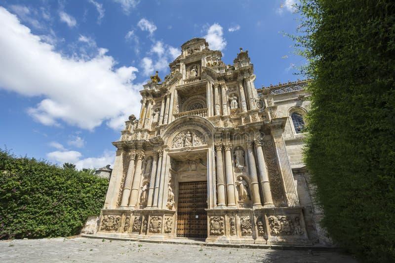 Monastère de Cartuja, Jerez de la Frontera, Espagne (Charterhouse) image libre de droits