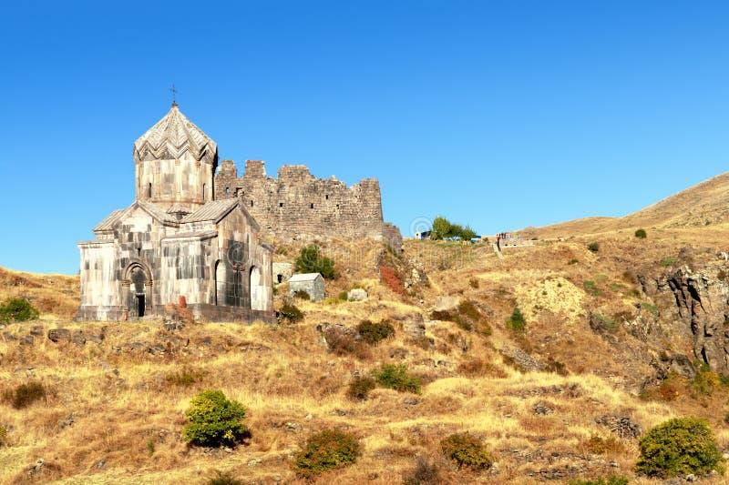 monastère de chrétien d'amberd images libres de droits