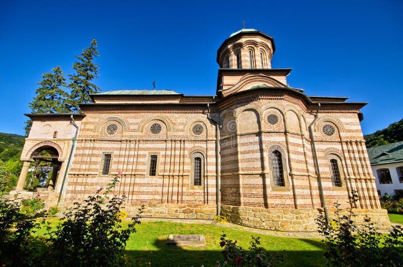 Monastère de Cozia en Roumanie image libre de droits