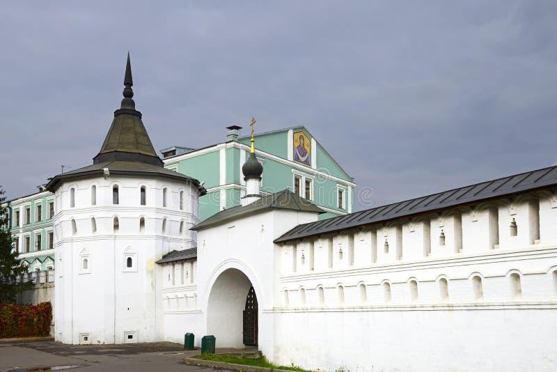Monastère de Danilov, Moscou, Russie photo libre de droits