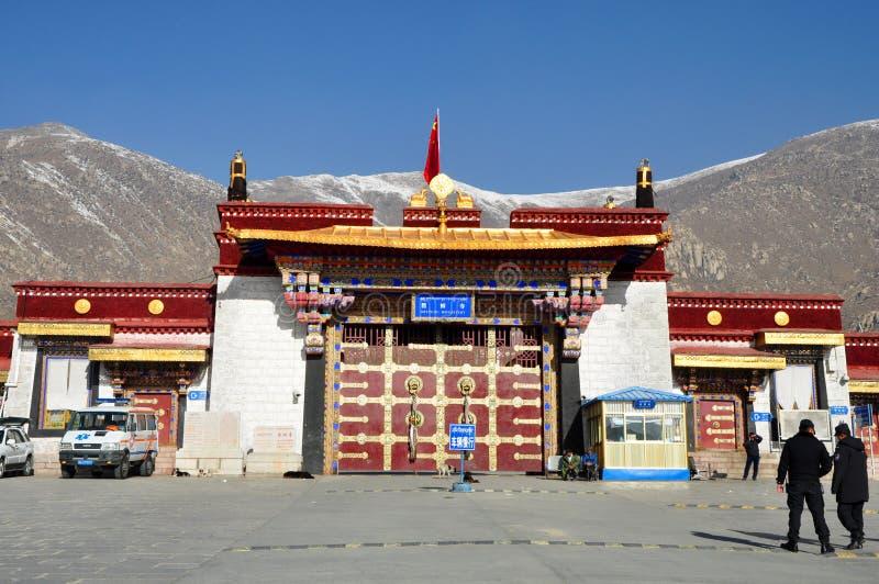 Monastère de Drepung photos stock