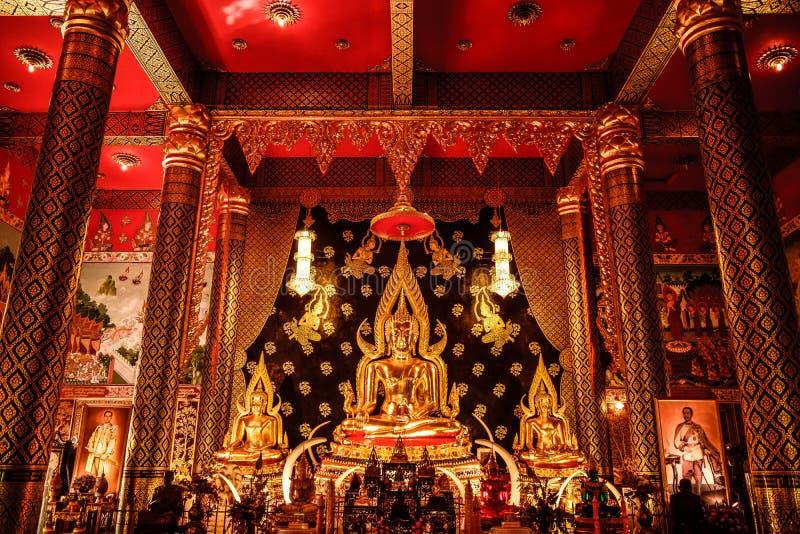 Monastère de forêt de whiphatsana de Neramit photo libre de droits