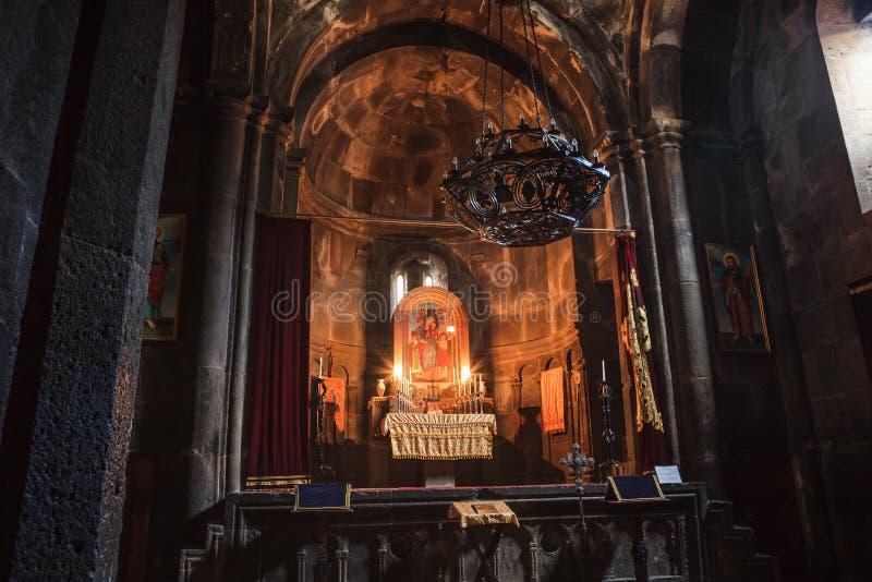 Monastère de Geghard d'Arménien photos stock