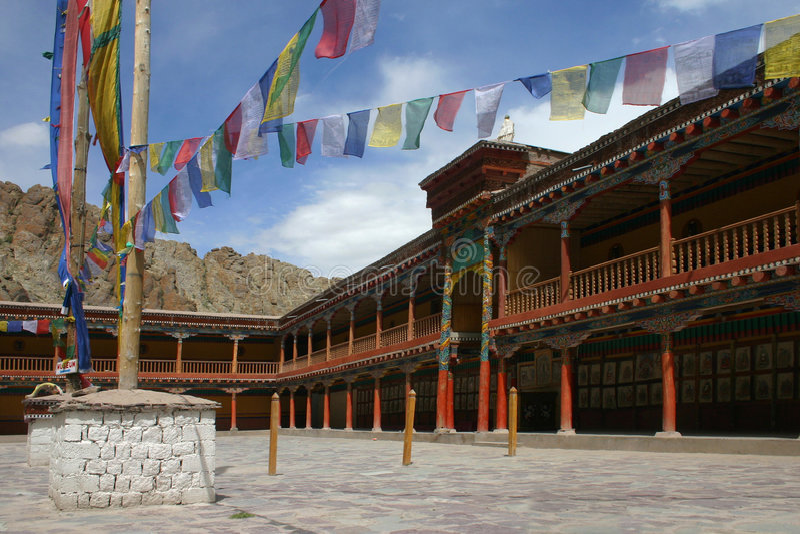 monastère de hemis photographie stock