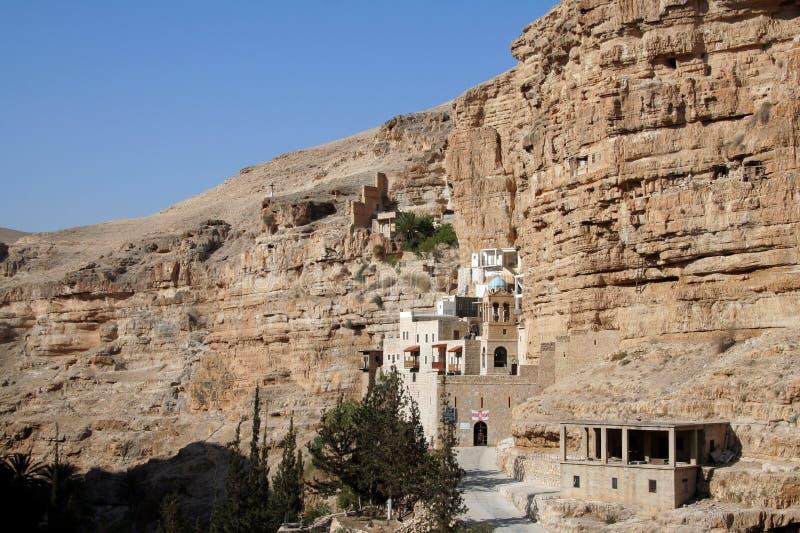 Monastère de Hozeva en Israël photographie stock