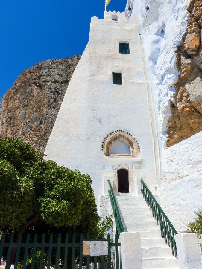 Download Monastère de Hozoviotissa image stock. Image du montagne - 56487281