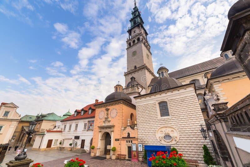 Monastère de Jasna Gora dans Czestochowa photographie stock libre de droits