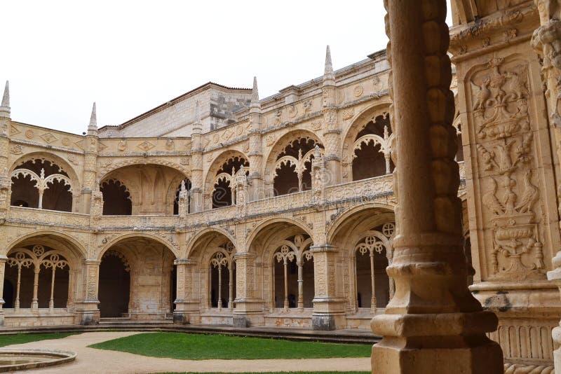 Monastère de Jeronimos photo libre de droits