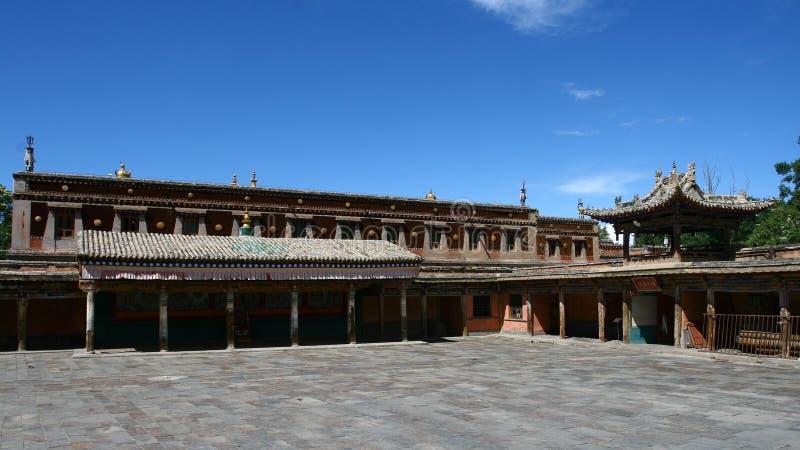 Monastère de Kumbum image libre de droits