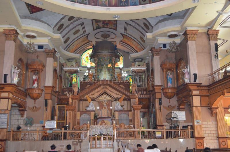 2015 : Monastère de l'autel saint d'église d'eucharistie dans Simala, Sibonga, Cebu photo libre de droits