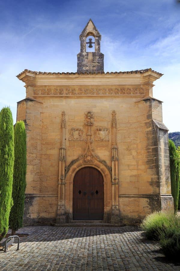 Monastère de l'Espagne Poblet, en Catalogne photos libres de droits