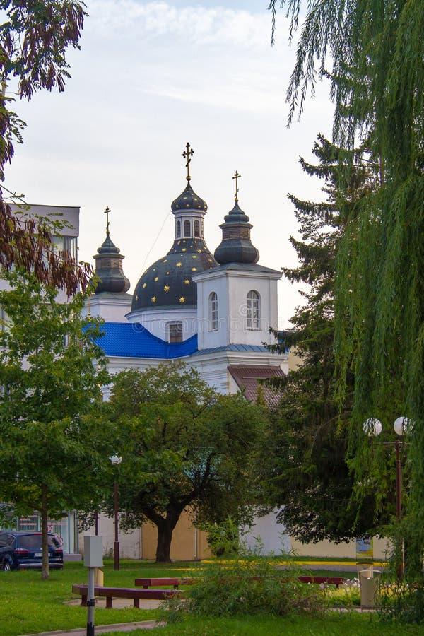 Monastère de la nativité de la Vierge à Grodno images stock
