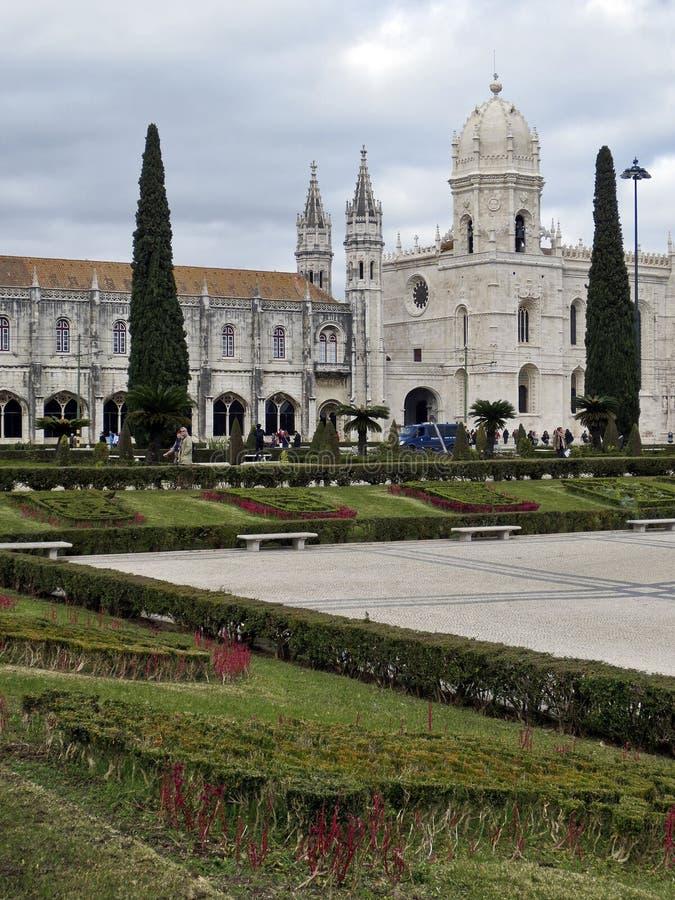 Monastère de Lisbonne Jeronimos, Belem, Lisbonne images libres de droits