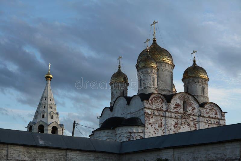Monastère de Luzhetsky dans Mozhaysk près de Moscou, Russie images stock