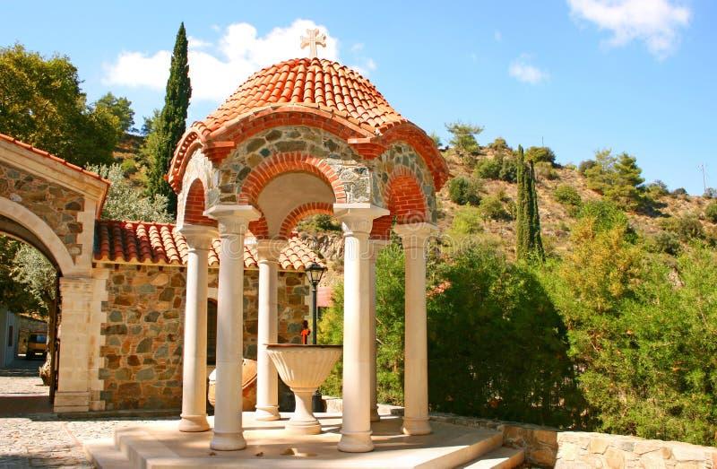 Monastère de Machairas photo stock