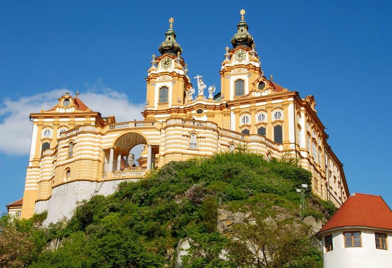 monastère de melk images stock
