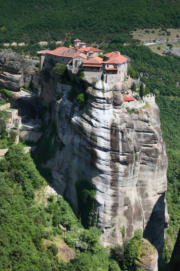 Monastère de Meteora, Grèce photo stock