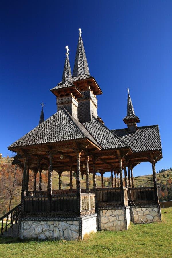 Monastère de Moisei photo libre de droits