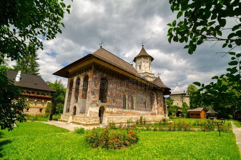 Monastère de Moldovita, Roumanie photographie stock libre de droits
