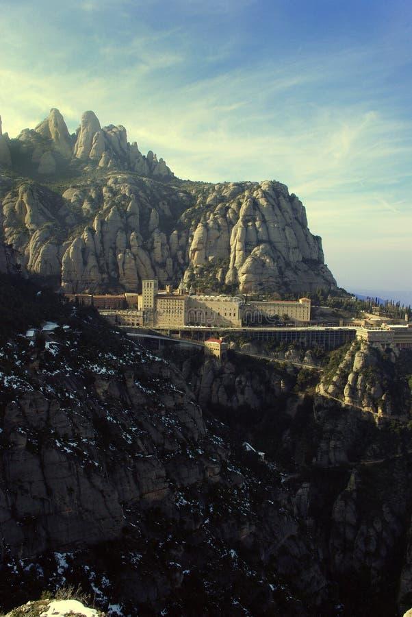 Monastère de Montserrat photographie stock libre de droits