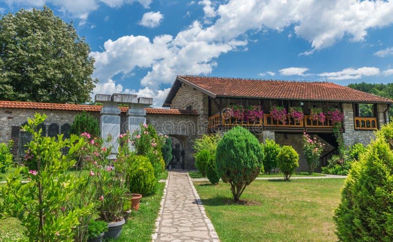 Monastère de Moraca dans Monténégro images stock