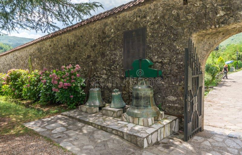 Monastère de Moraca dans Monténégro photo stock