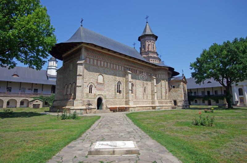 Monastère de Neamt photographie stock libre de droits