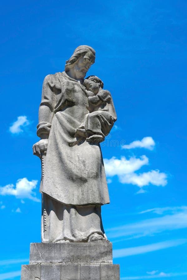 Monastère de Niepokalanow image libre de droits