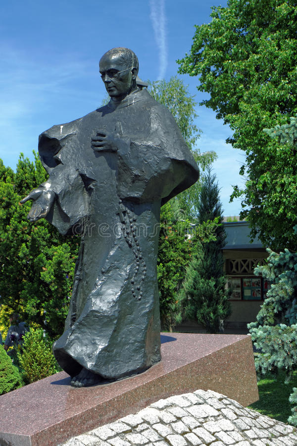Monastère de Niepokalanow image stock