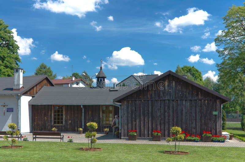 Monastère de Niepokalanow photographie stock