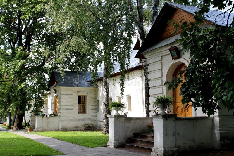 Monastère de Novodevichy de cellules à Moscou photographie stock