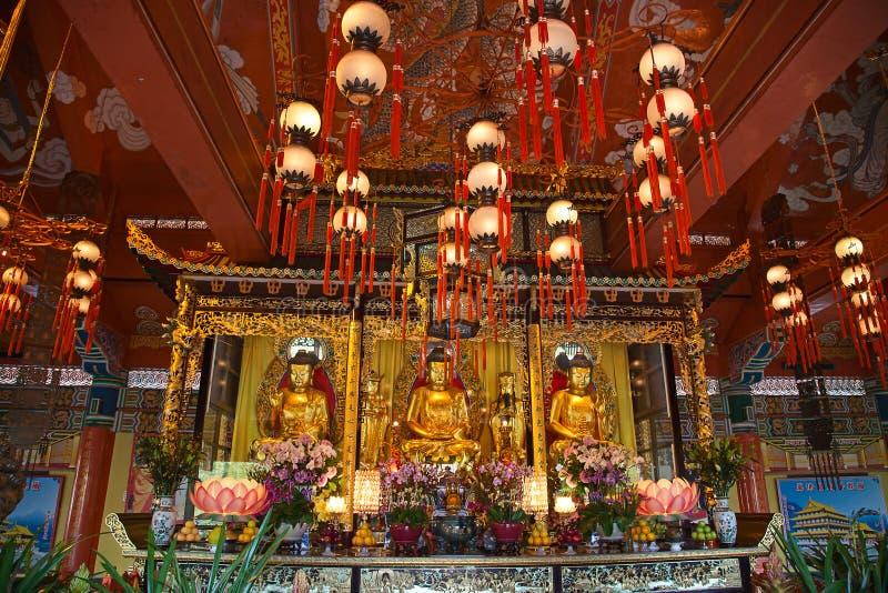 Monastère de PO Lin images stock