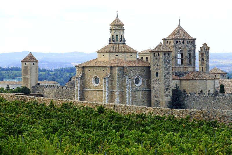 Monastère de Poblet, Espagne photographie stock