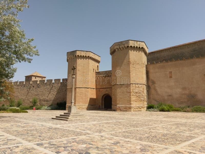 Monastère de Poblet, Tarragone, Espagne images libres de droits