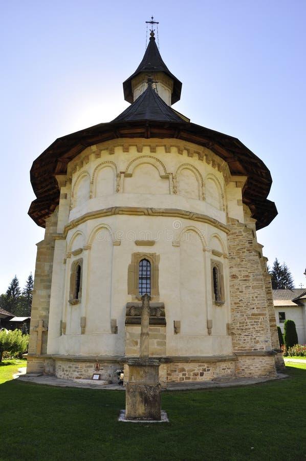 Monastère de Putna, monument de l'UNESCO, Roumanie photo stock