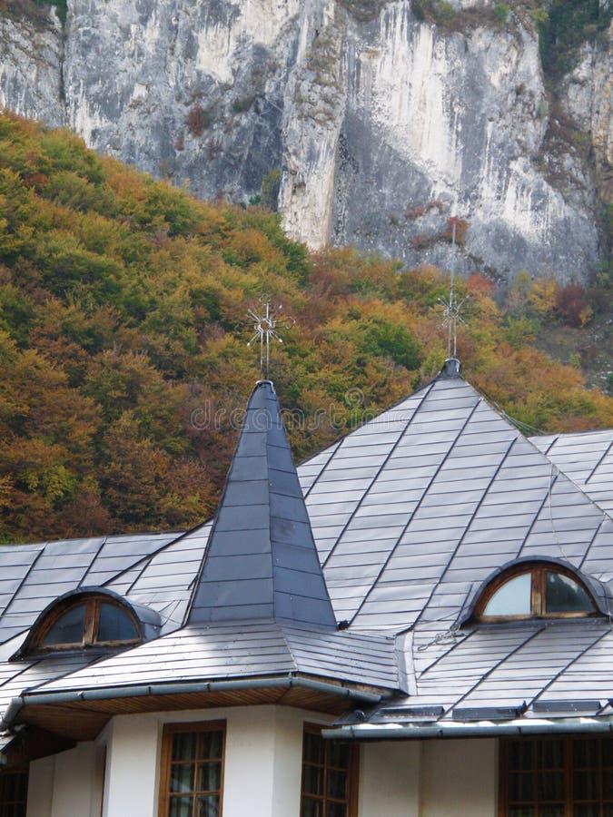 Monastère de Ramet, Roumanie images libres de droits