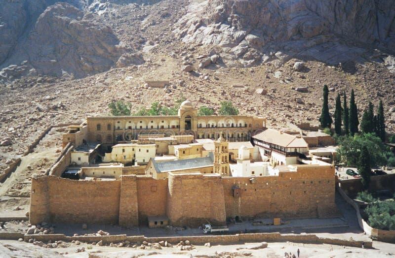 Monastère de rue Catherine. l'Egypte photo stock