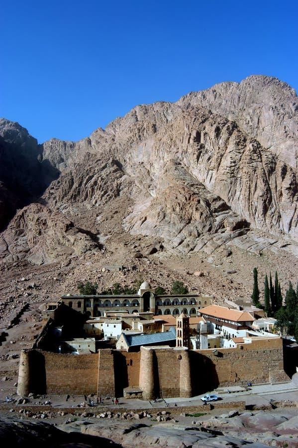 Monastère de rue Catherine, Sinai photos libres de droits