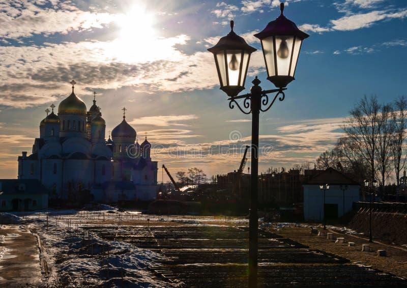 Monastère de séraphin-Diveevsky de trinité sainte photographie stock libre de droits